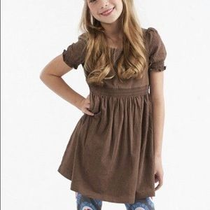 Matilda Jane Cleo chocolate brown lap dress Size 8